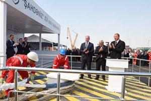 Опорный блок по проекту «Шахдениз-2» отправили в море