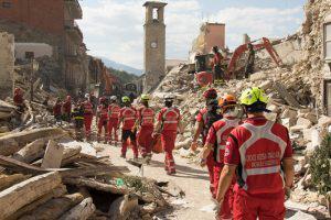 Очередное землетрясение в Италии
