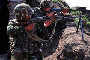 Армяне обостряют ситуацию на линии фронта под «заказ» МГ ОБСЕ