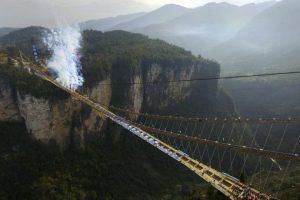 В Китае построили высочайший мост в мире