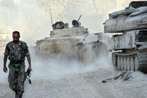 Сирийские войска предотвратили захват ВВС