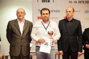 Рауф Мамедов выиграл «бронзу» и «серебро» ЧЕ по  рапиду и блицу