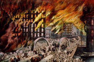 Великий чикагский  пожар: все, что ни делается, к лучшему?