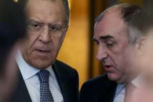 Что обсудили главы МИД Азербайджана и России?