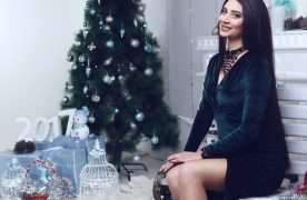 «Новогодние» красавицы от Miss Top Model Azerbaijan (ФОТО)