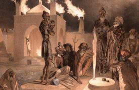 Древний Азербайджан в творчестве художника Григория Гагарина (ФОТО)