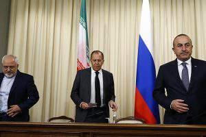 Иран-Россия-Турция: роман закончен?