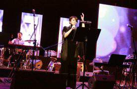 Певица Тарана Махмудова выступила на jAzzeri Bands