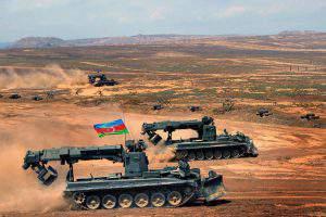 Азербайджан начал военные учения, Армения жалуется ОБСЕ