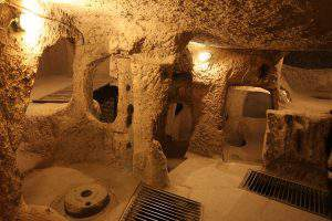Деринкую: подземный небоскреб