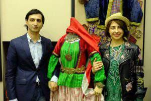 Натаван Алиева показала, как одевались азербайджанки в прошлом
