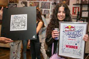 В Баку подвели итоги Red Bull Doodle Art 2017