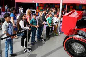 Расписание развлекательной программы на Гран-при Азербайджана