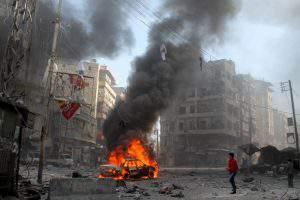 Взрыв «сирийской бомбы»