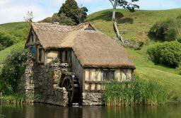 История водяной мельницы