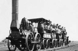 История паровоза