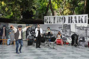 Очередной концерт в рамках проекта «Ретро Баку»