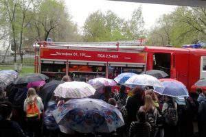Массовая эвакуация в городах России
