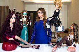 В Баку состоялась выставка авторских кукол Фарах Алиевой