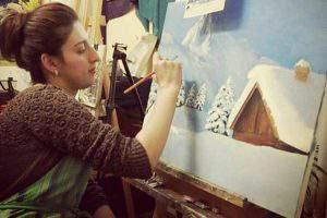 «Увидеть свои картины в Лувре было моей мечтой»
