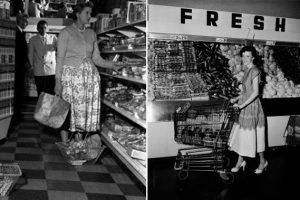 История тележки в супермаркете