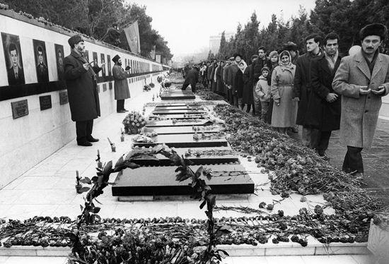 Азербайджанский народ почтил память шехидов