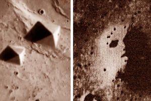 «Пирамиды» и «лица» на Марсе