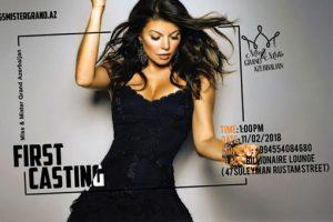 Баку готовится к конкурсу Miss & Mister Grand Azerbaijan 2018