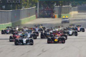 Гонка Гран-при Азербайджана Формулы 1 завершилась
