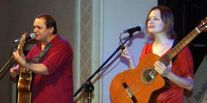 Грузины на фестивале авторской песни в Баку