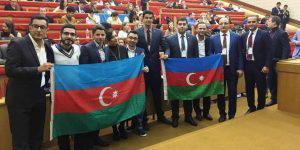 Делегация из Азербайджана на форуме молодых лидеров Евразии