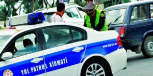 Дорожная полиция Баку взялась за водителей не оплативших штрафы
