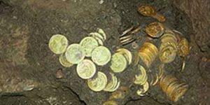 В Азербайджане случайно нашли клад из древних монет