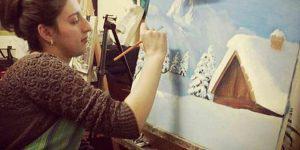 """""""Увидеть свои картины в Лувре было моей мечтой"""""""