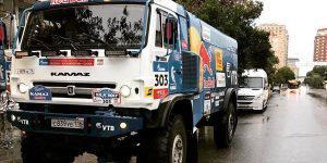 Чемпион ралли «Дакар»: В Баку запросто можно провести соревнования спортивных грузовых автомобилей