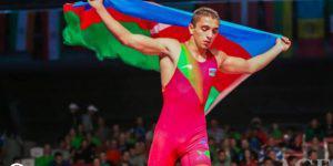 Азербайджанский вольник одолел армянина и стал чемпионом мира