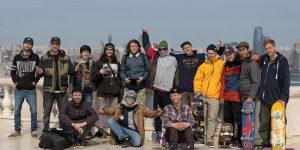 Российские скейтбордисты в восторге от Баку