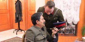 """""""Сталин"""" на премьере в киноцентре Низами"""