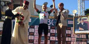 Велогонщик азербайджанской «Синержи» в лидерах