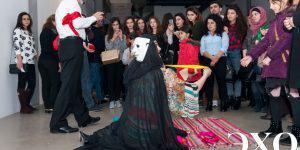 Актеры азербайджанского театра YUĞ пустили в ход импровизацию (ФОТО)